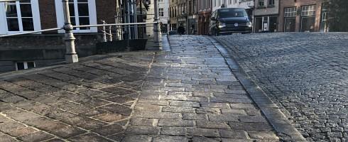 Brug gestrooid Brugge