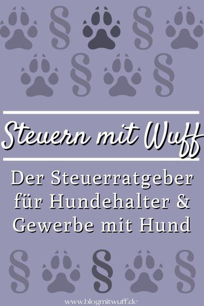 Pin Steuern mit Wuff der Steuerratgeber rund um den Hund