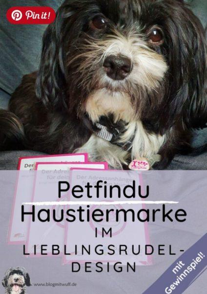 Pin it - Petfindu Hundemarke