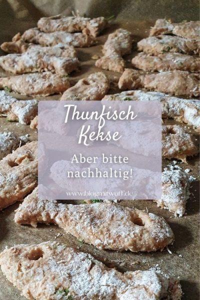 Thunfisch Kekse für Hunde