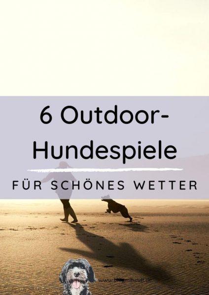 Titelbild zu 6 Outdoor Hundespiele