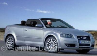 Presto la Audi A3 Cabrio