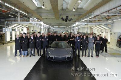 Consegnata l'ultima Reventón, la più estrema ed esclusiva Lamborghini della storia