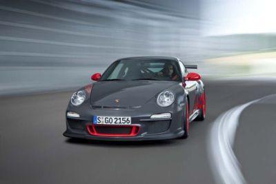 Porsche 911 GT3 RS in mostra al salone di Francoforte 01
