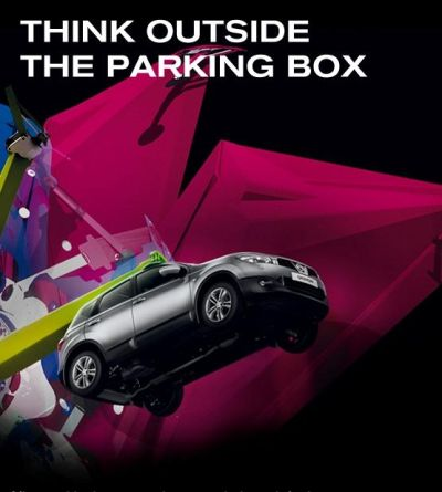 Nissan THINK OUTSIDE THE PARKING BOX
