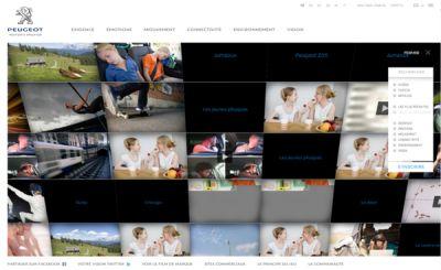 New-Peugeot.com un sito per condividere il sogno della Peugeot e costruire il futuro con un concorso a premi 01