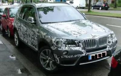 Nuova BMW X3 primi dettagli stilistici e tecnici