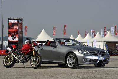 Dopo Volkswagen e Suzuki, accordo tra Mercedes e Ducati