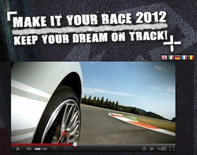Make it your race 2012: ecco come diventare piloti Abarth