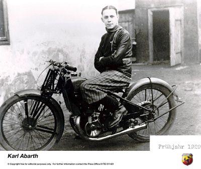 Karl Abarth e le moto: dalle due alle quattro ruote