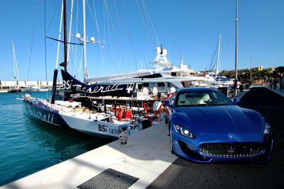 Soldini al timone di Maserati ripercorre la vecchia rotta dell'oro