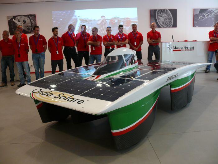 Onda Solare al Museo Ferrari di Maranello