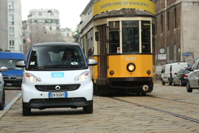 car2go la rivoluzione parte da Milano, 450 smart fortwo disponibili per il noleggio
