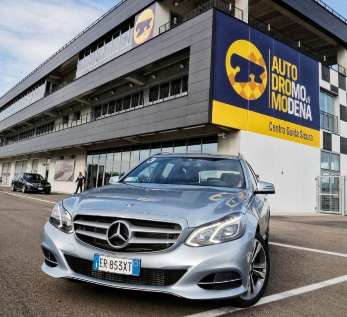 Abbiamo testato la Mercedes Classe E BlueTEC Hybrid all'Autodromo di Modena. Ecco come va. BlogMotori.com 0