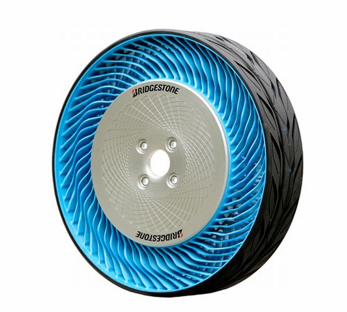 Bridgestone Corporation svela il prototipo dei pneumatici Air Free di seconda generazione