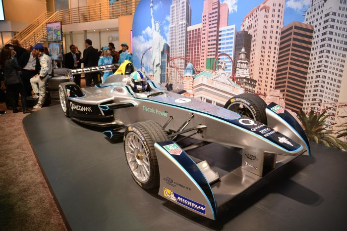 Formul E at the 2014 Consumer Electronics Show 01