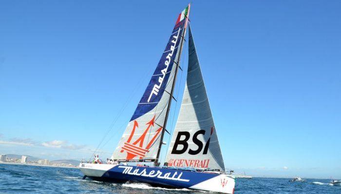 Il team di Maserati e Giovanni Soldini in testa alla Cape2Rio Yacht Race