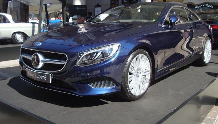 Mercedes-Benz Classe S Coupé, anteprima italiana