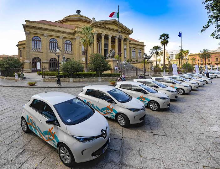 Car Sharing elettrico Renault e Enel scommettono su Palermo 3