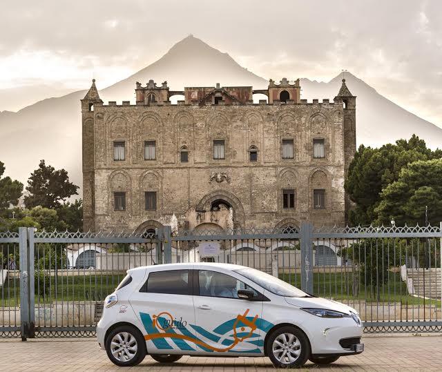 Renault ZOE a Palermo 3