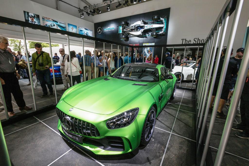 Mercedes-AMG GT R Foto dal vivo 04