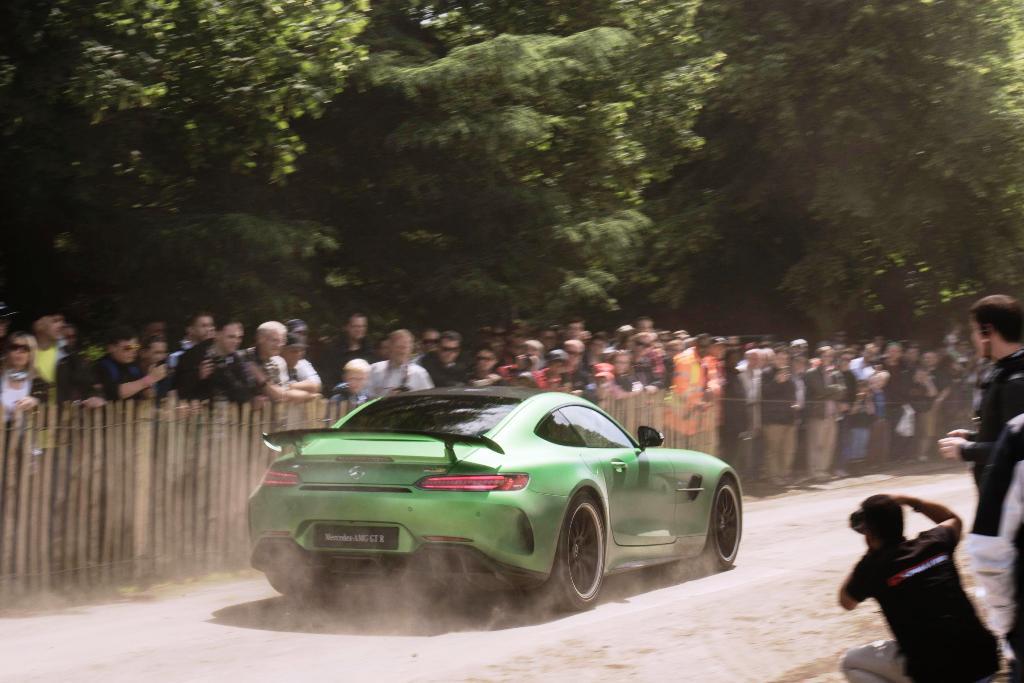 Mercedes-AMG GT R Foto dal vivo 14