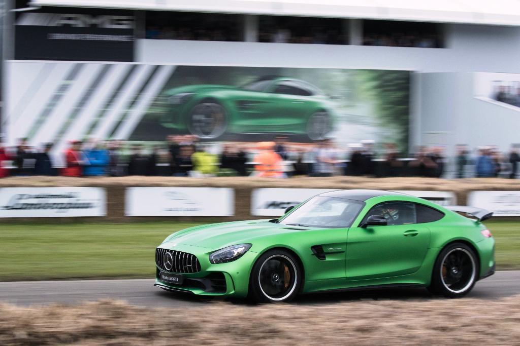 Mercedes-AMG GT R Foto dal vivo 15