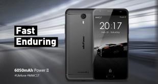 Ulefone Power 2, con 4GB di RAM e 64GB di memoria interna
