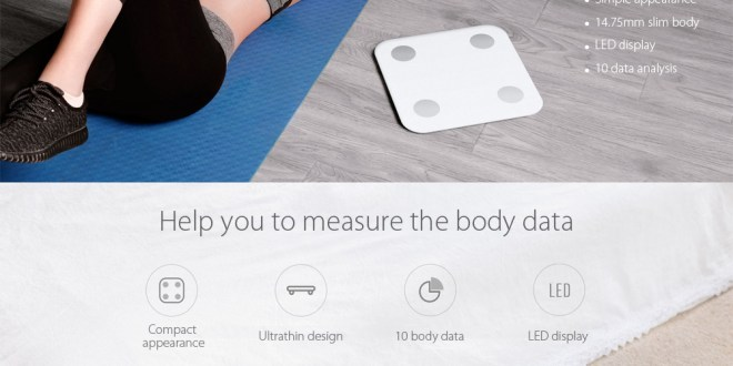 Bilancia Smart Xiaomi Body Fat Scale