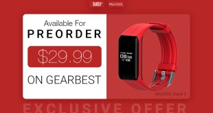 MGCOOL Band 3 in preorder su Gearbest