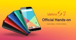 Ulefone S7, video
