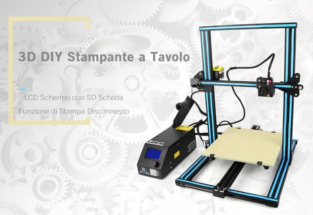 Creality3D CR - 10S 3D Stampante