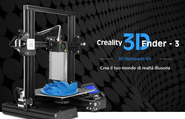 Stampante 3d, Creality Ender 3