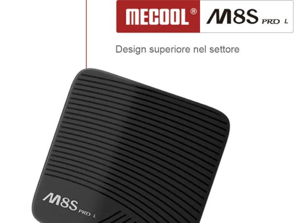 Mecool M8S PRO L 4K TV Box Amlogic S912 Bluetooth 4.1 + HS - Nero Controllo vocale remoto (3 GB di RAM + 32 GB di ROM) 2
