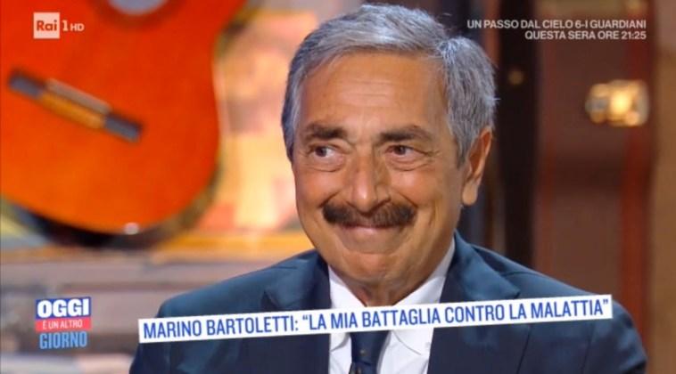 """Marino Bartoletti: """"Ho avuto un tumore. Il mio desiderio è riacquistare la serenità che merito"""""""