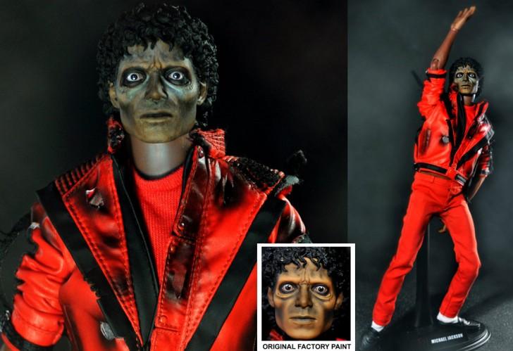 muneco Michael Jackson thriller zombie