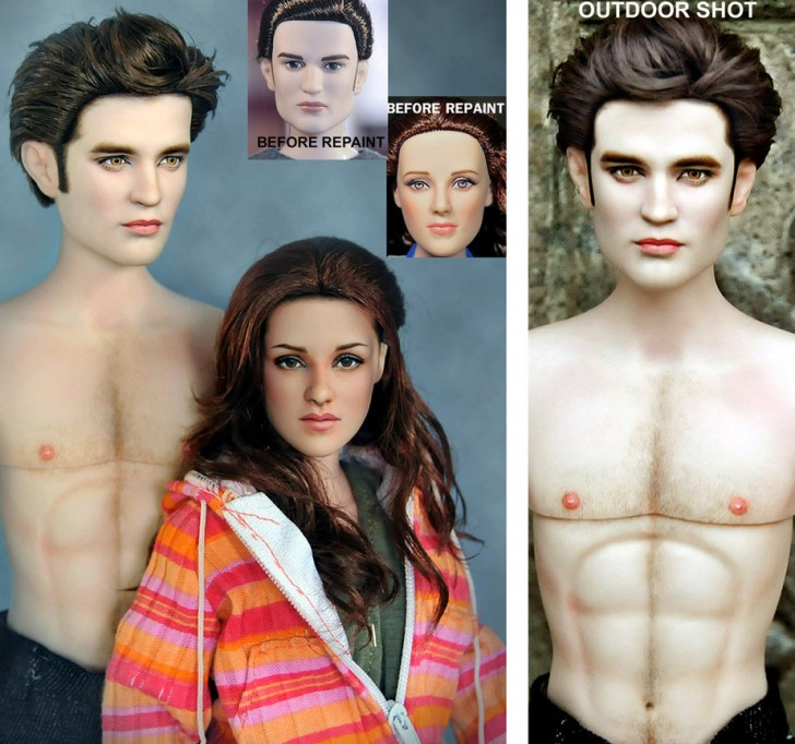 munecos twilight bella kristen robert edward