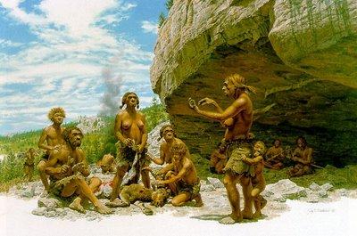 lenguaje comunicacion prehistoria neandertal familia