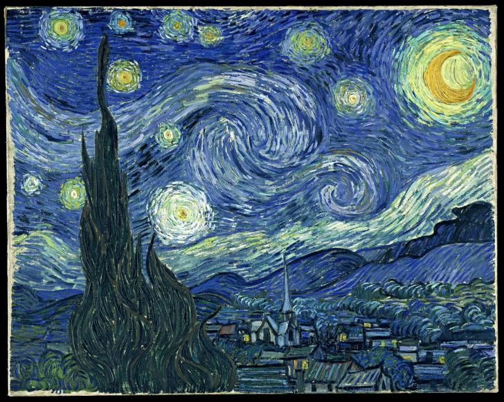 noche estrellada vincent van Gogh cuadro