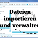[Plotter-Anleitung] – Dateien importieren und verwalten. (Silhouette)