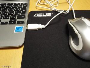 Flip C100PAにUSBマウス接続