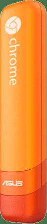 突然(?)、ASUS Chromebit CS10の新色登場。ビビッドなオレンジが可愛いな