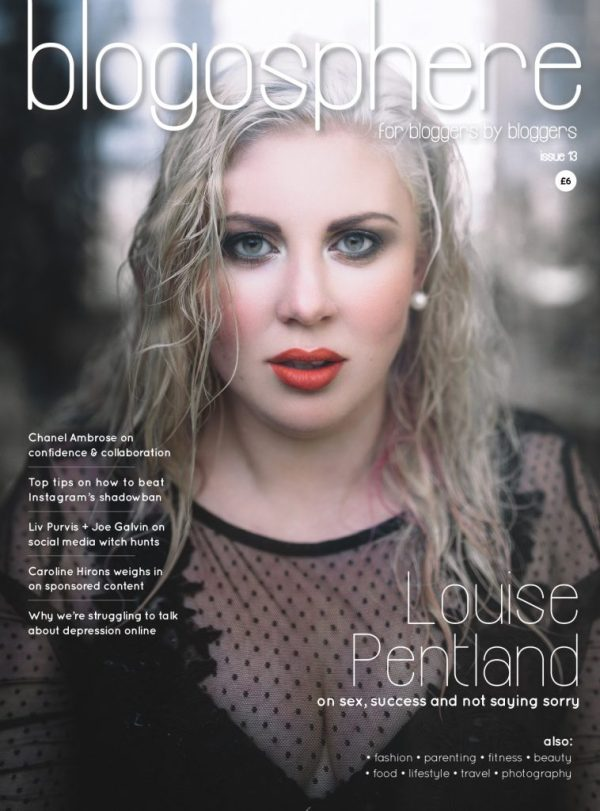 Louise Pentland - Issue 13 Blogosphere Magazine