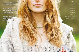 Blogosphere Magazine Issue 9 featuring interviews with Ella Grace Denton, Emma Gannon and Hannah Gale.