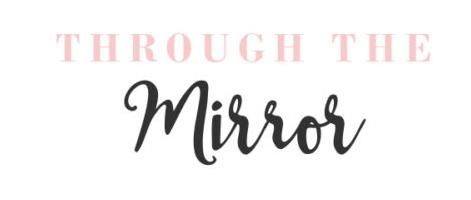 through the mirror logo