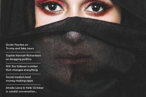 issue 12 Blogosphere magazine with Dina Tokio