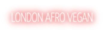 London Afro Vegan logo