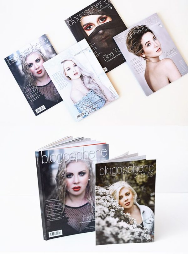 Buy Blogosphere Magazine Subscription - a print magazine about blogging, YouTube, influencers and social media