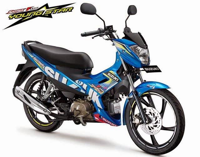 Suzuki Satria F115 Edisi Moto GP