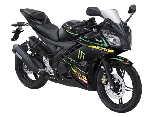Yamaha YZF-R15 Livery Moto GP tim Monster Tech 3